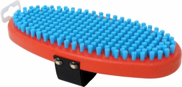 T160O Brosse de finition ovale, fine blue nylon